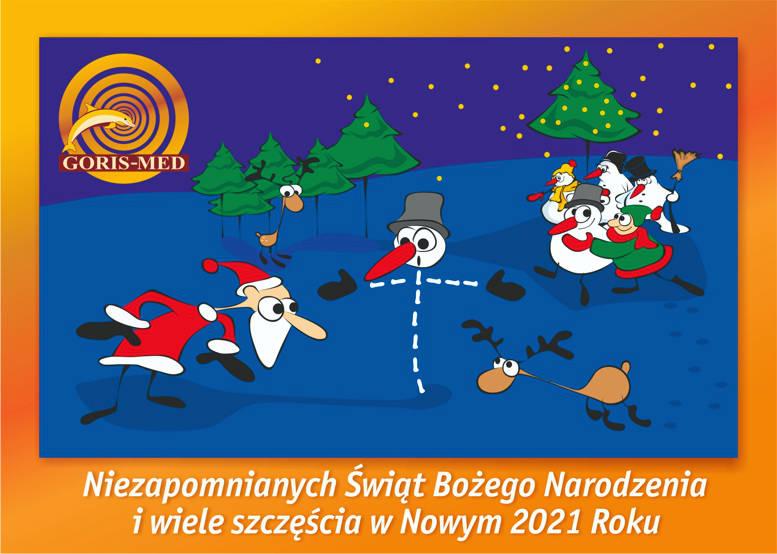 Niezapomnianych Świąt Bożego Narodzenia i wiele szczęścia w Nowym 2021 Roku